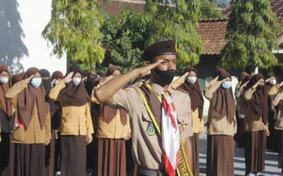 Peringatan Hari Pramuka Indonesia Ke-60 SMK Nurul Huda Sukaraja